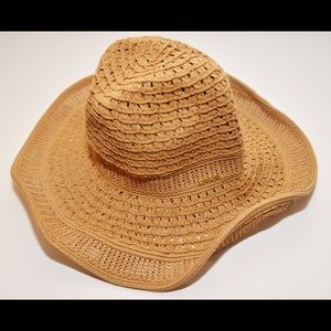 Bebe vintage straw hat for women